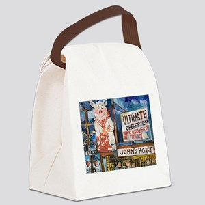 Philadelphia Johns Roast Pork Canvas Lunch Bag